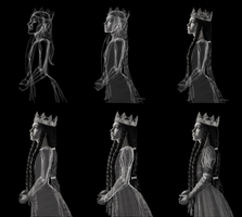 DigitalArtTutorial/Steps Queen Joan Of Navarre