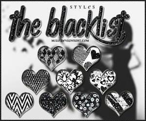 The blacklist Styles.