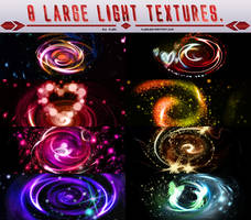 8 Large Light Textures.