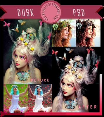 Dusk PSD.
