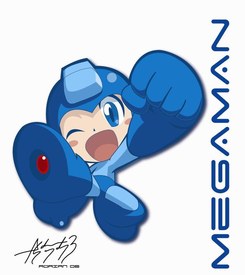 Megaman by E-drian