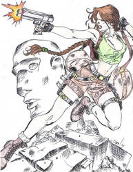 Lara Croft, one of my best :D by nightmare58710