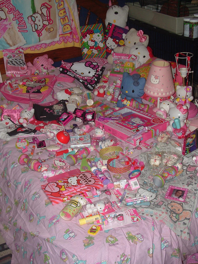 My Hello Kitty Collection by nightmare58710 on DeviantArt