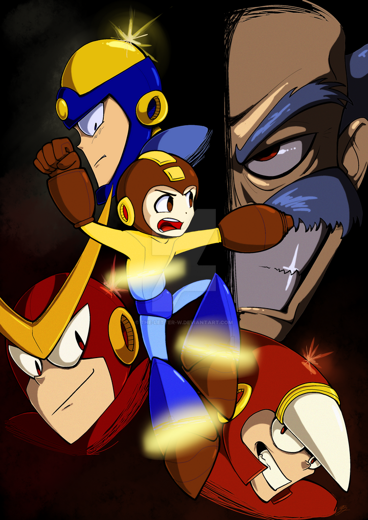 Mega Man 2 - Legacy by The-Letter-W