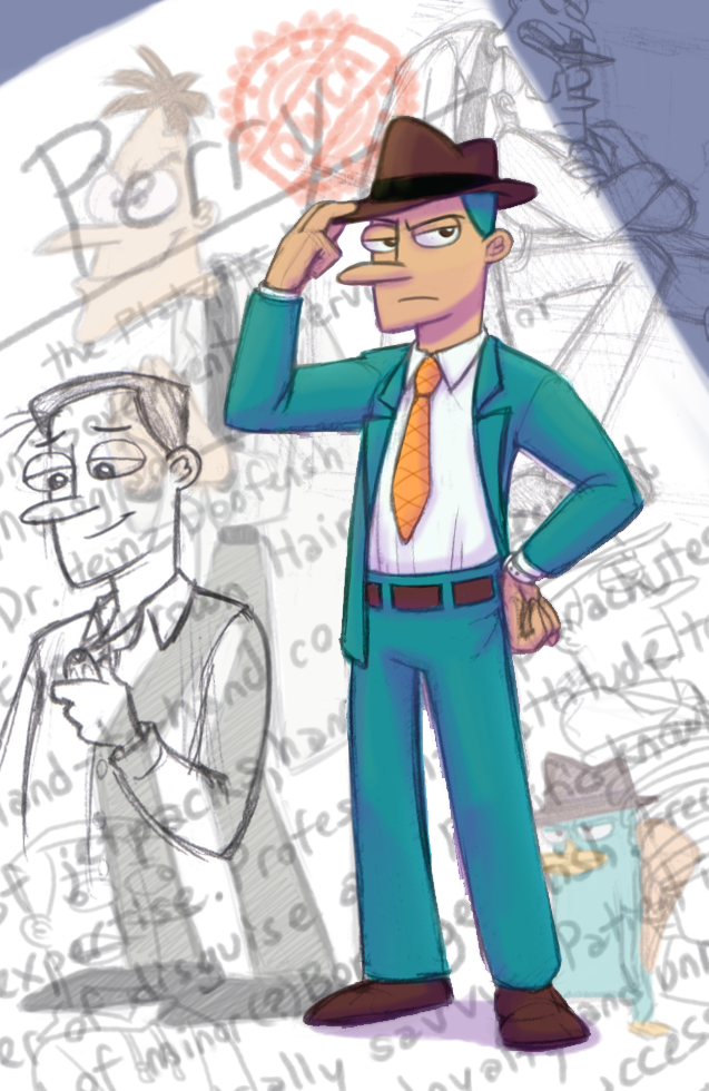 PnF: Human Perry Redux