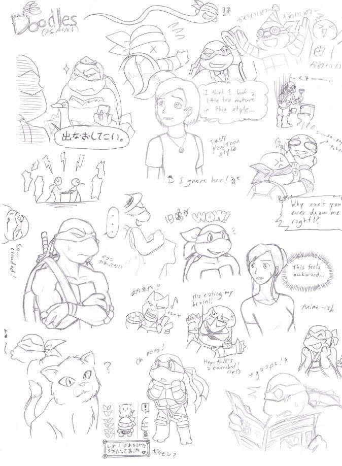 Big Page 'o' Doodles by Fuwa2-Kyara