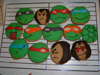 TMNT Cookies 2 by Fuwa2-Kyara