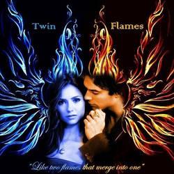 Damon and Elena: Twin Flames by LadyRaw90