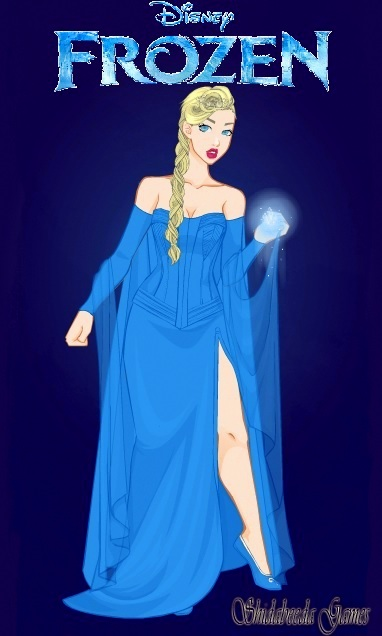 Queen Elsa from Frozen by LadyRaw90