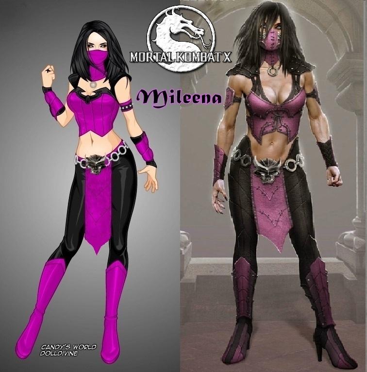 original mortal kombat characters mileena