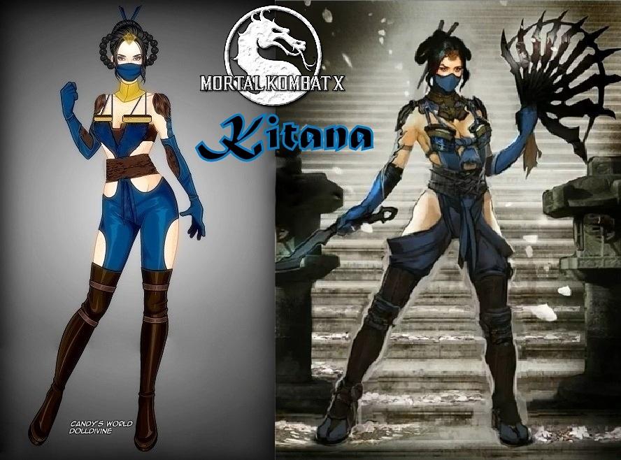 Mortal Kombat X Kitana by LadyRaw90