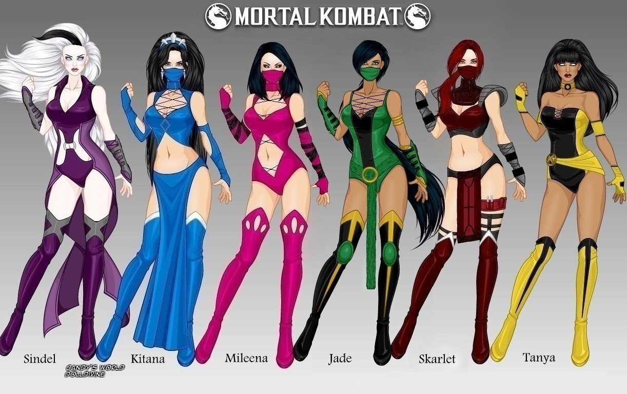 Mortal Kombat Women Of Edenia Outworld By Ladyraw90 On