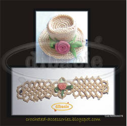 tatted ivory set by dibacie