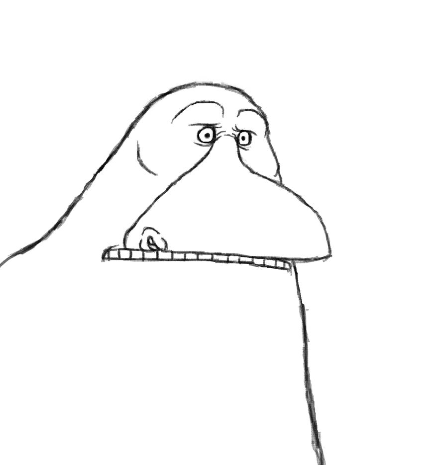 Groke doodle by Redspets