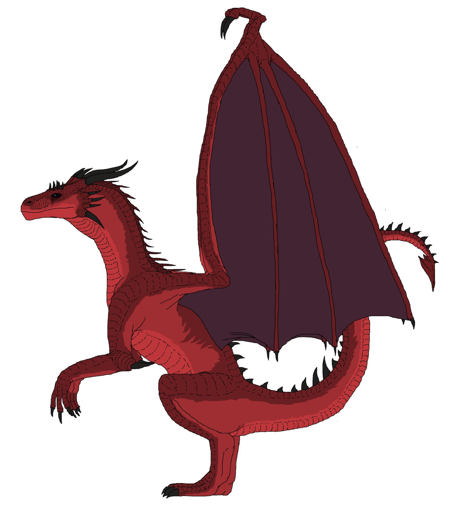 Tyrania (dragonsona) full body shot by Redspets