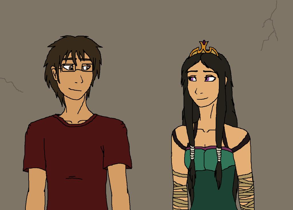 Jordan and Kasha by Redspets