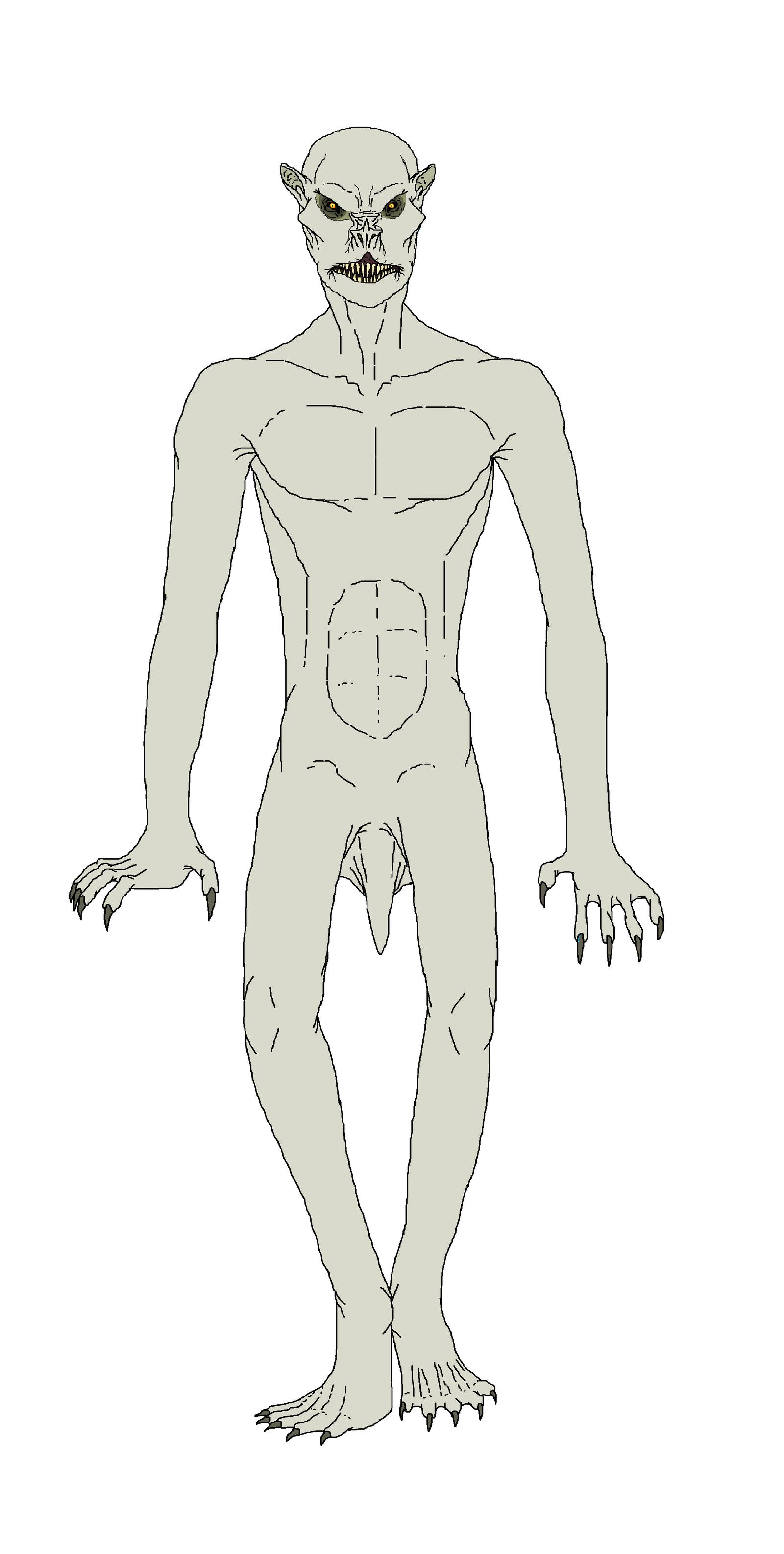 Aswang and Strigoi hybrid vampire by Redspets
