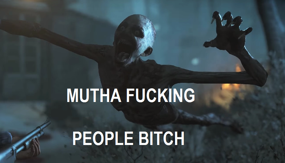 MUTHA FUCKING PEOPLE BITCH by Redspets