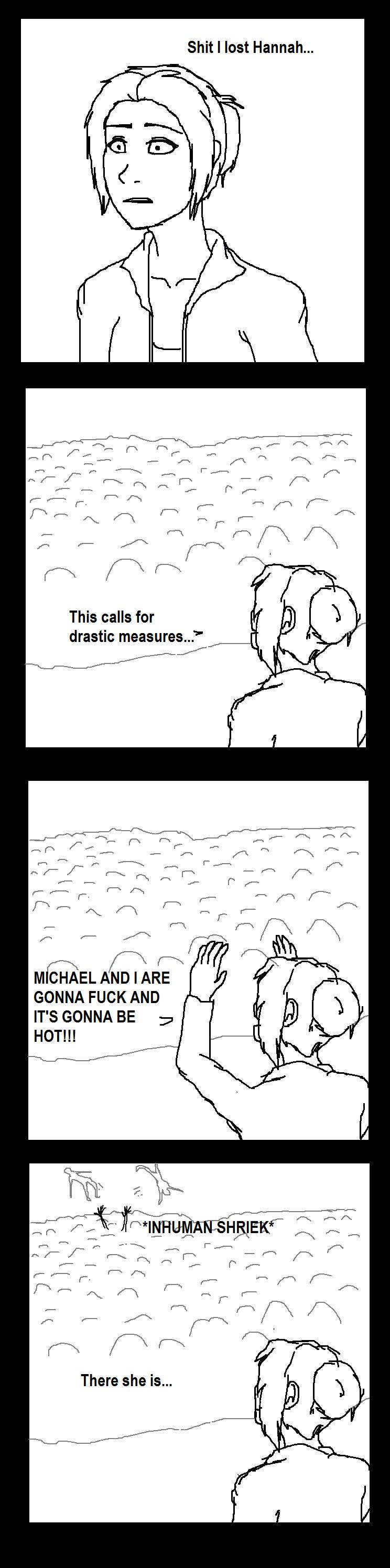 Lost In A Crowd Meme... by Redspets