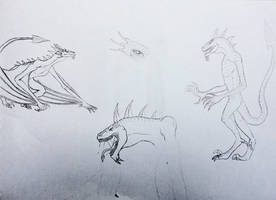 Ayla's true forms by Redspets
