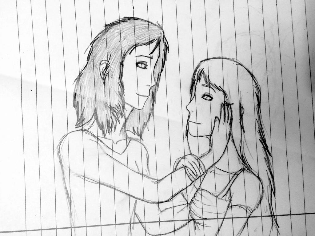 Ayla and Kasha by Redspets