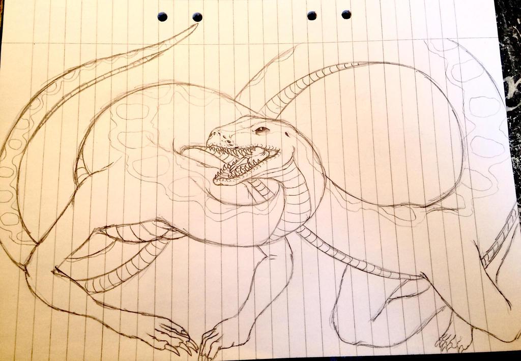 Sangatserpiphan were-python by Redspets