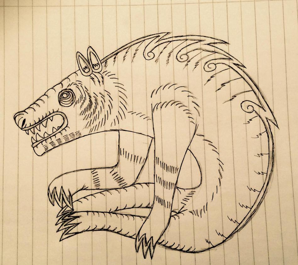 My werewolf ancestor by Redspets