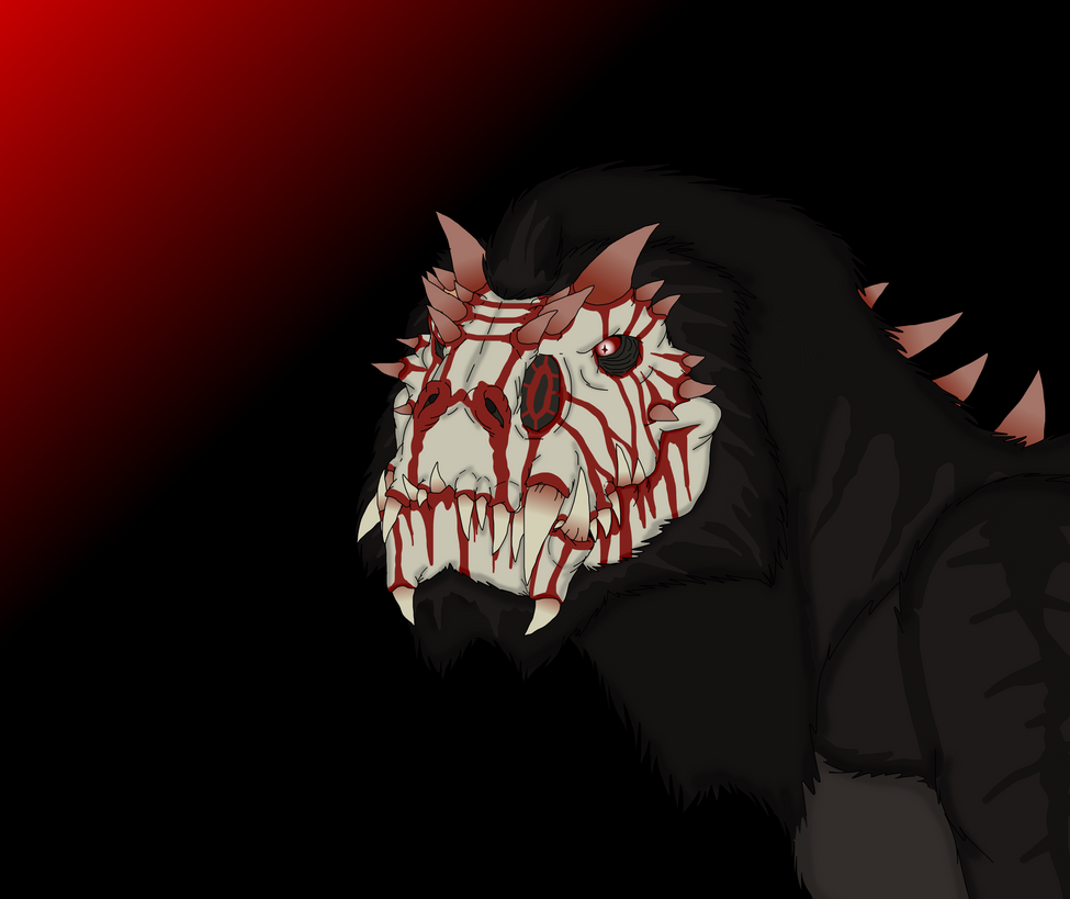 Red Fever : Were-tyrant form. by Redspets