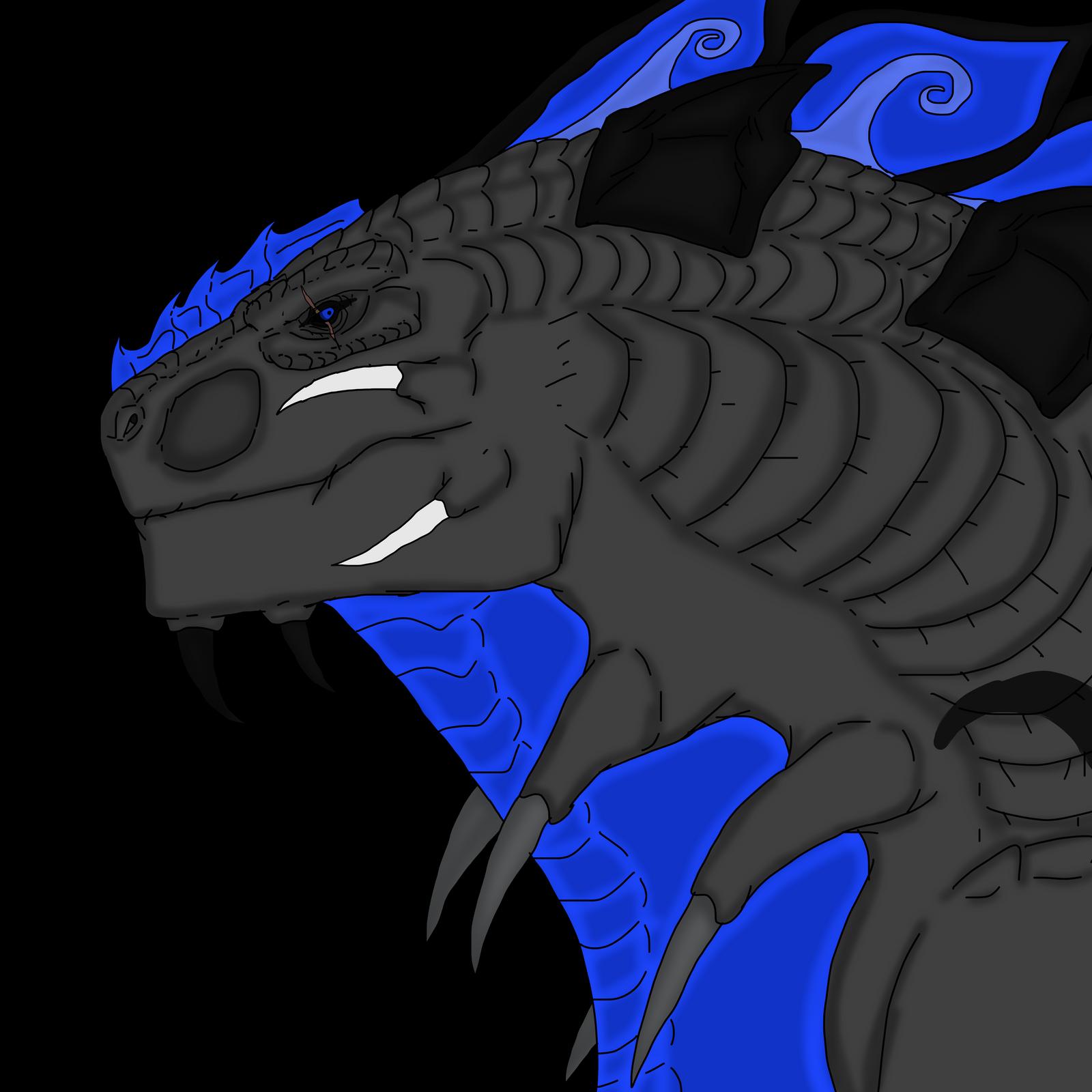 Bluezilla The Soul Kaiju by Redspets