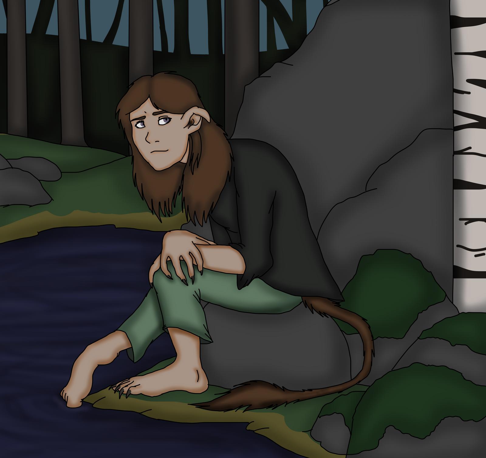Folklore/Mythology persona: Troll by Redspets