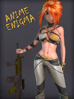 Anime Enigma by 3doutlaw