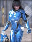 Blue Armor