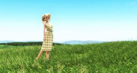 Grass Field by 3doutlaw