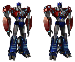 Transformers prime orion pax/cybertronian optimus