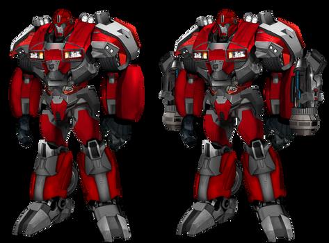 Transformers prime ironhide v2.