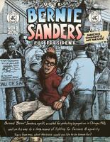 VOTE Bernie Sanders Comic Book Cover... by JamCityComics