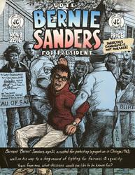 VOTE Bernie Sanders Comic Book Cover...