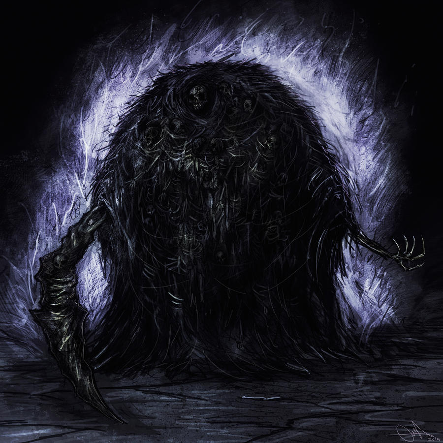 Gravelord Nito by Eemeling on DeviantArt