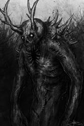Demon In Woods by Eemeling