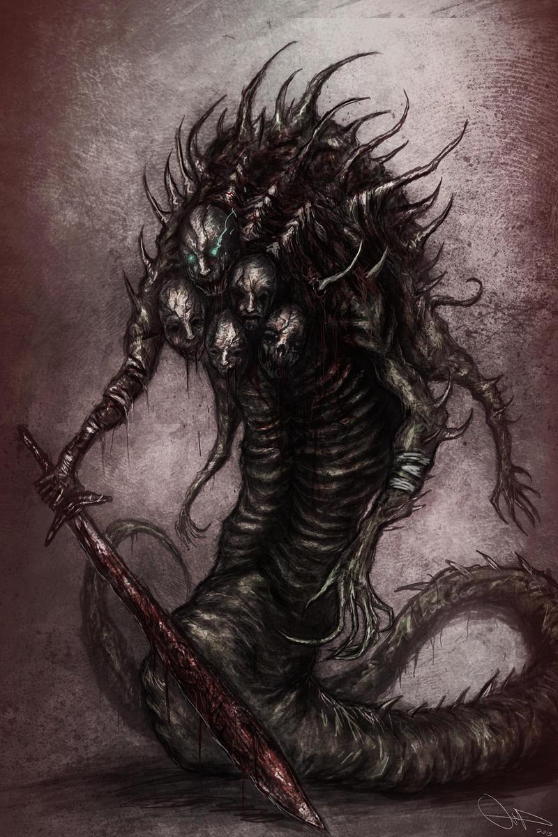 Snake Demon by Eemeling