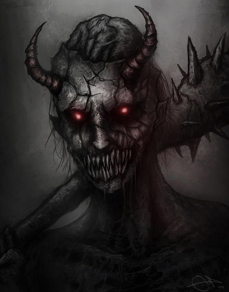 Demon by eemeling on deviantart for Domon pictures