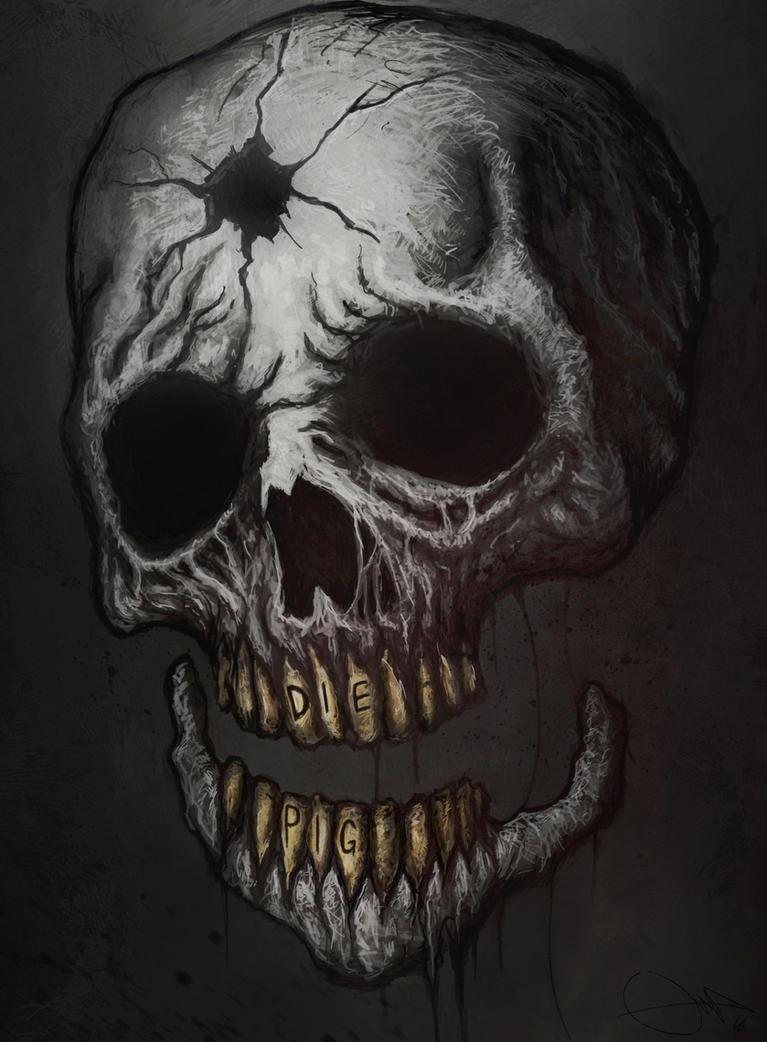 Skull by Eemeling