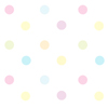 Pretty Pastel Polka Dot Desktop TILED by cupcakekitten20