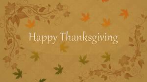 Happy Thanksgiving 1920x1080 Desktop Background