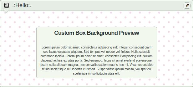Custom Box Background Light Pink Polka Dots by Sleepy-Stardust