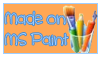 Free to Use - Made On MS Paint Stamp by Sleepy-Stardust