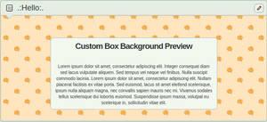 Halloween Pixel Pumpkins - Custom Box Background