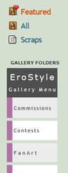 Gallery Menu Icons Commish - EroStyle by Sleepy-Stardust