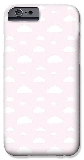Pink Glitter Clouds Case - iPhone and Galaxy by CupcakeyKitten