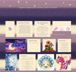 Ampersandprincess Gallery Skin Commission - Part 3 by Sleepy-Stardust